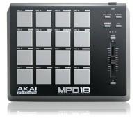 MIDI контролер AKAI MPD18